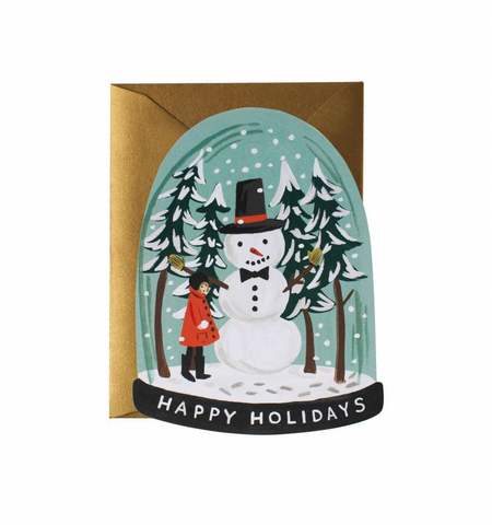 Rifle Paper Co. Snow Globe Card (Boxed Set of 8)