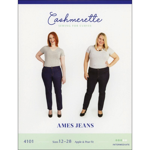 Ames Jeans Sewing Pattern by Cashmerette
