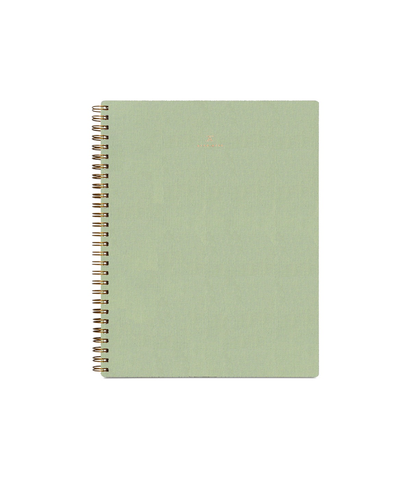 Appointed Dot Grid Workbook Light Sage