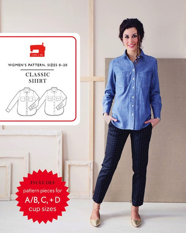Liesl + Co. Classic Shirt Sewing Pattern