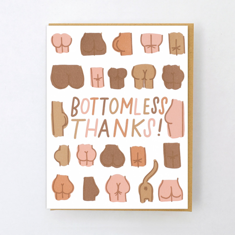 Hello Lucky Butts Card