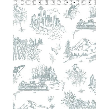 Pacific Northwest Toile Gray