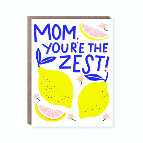 Hello Lucky Mom's The Zest Card