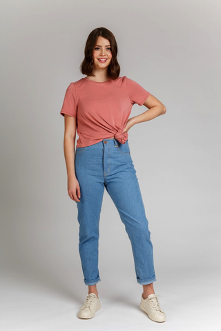 Dawn Jeans Sewing Pattern by Megan Nielsen Patterns