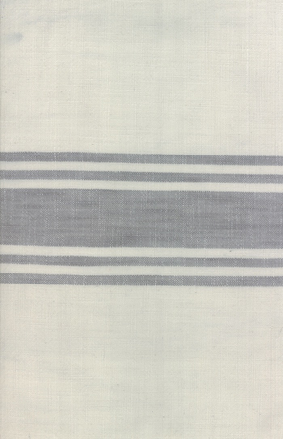 Urban Cottage by Urban Chiks Striped Toweling Ivory Grey