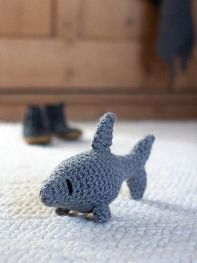 Toft Kai the Baby Shark Crochet Kit Jumbo - Drygoods Design