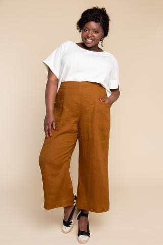 Closet Core Patterns Pietra Pants & Shorts Sewing Pattern