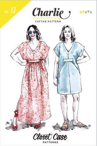 Closet Case Patterns Charlie Caftan Sewing Pattern