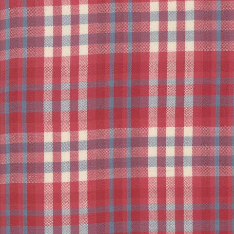 Northport Silky by Minick & Simpson Plaid Red Blue