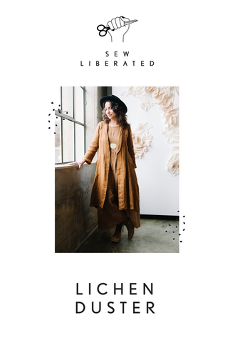 Sew Liberated Lichen Duster Sewing Pattern