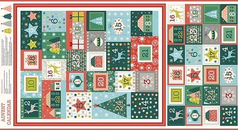 Merry by Makower Merry Advent Calendar Multi