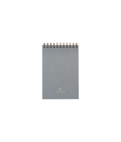 Appointed Pocket Notepad Dove Gray