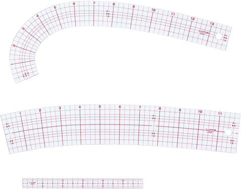 Clover Pattern Making Ruler Set (3 pc)