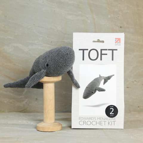 Toft Hope the Blue Whale Crochet Kit Jumbo