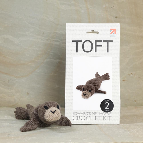 Toft Olivia the Seal Crochet Kit Jumbo