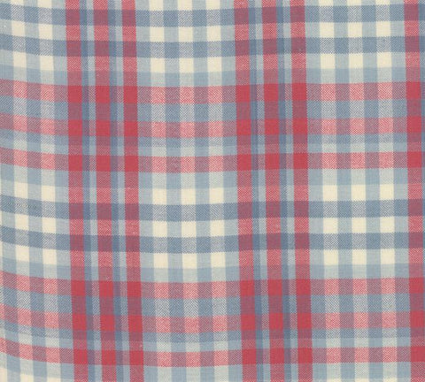 Northport Silky by Minick & Simpson Plaid Blue Red