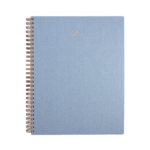 Appointed Lined Notebook Chambray
