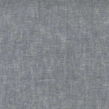 Robert Kaufman Brussels Washer Yarn Dye Grey 52""