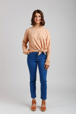 Jarrah Sweater Sewing Pattern by Megan Nielsen Patterns