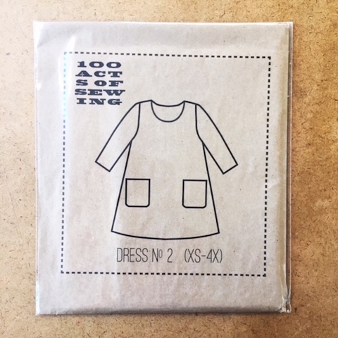 Dress No. 2 by 100 Acts of Sewing (XS to 4X)
