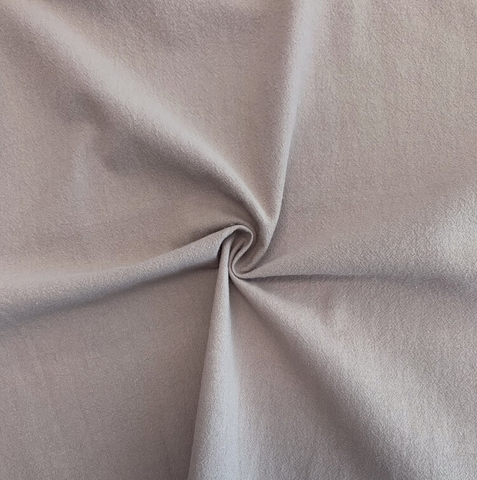 Sand-Washed Cotton Crepe Nutmeg 52""