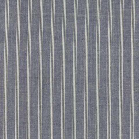Vive La France Wovens by French General Stripe Indigo