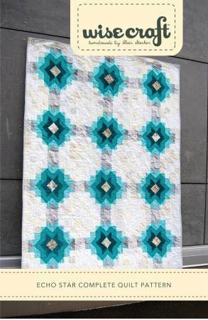 Echo Star Quilt Pattern by Wisecraft