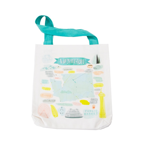 Pacific Wanderings by Mara Penny for Moda Washington Tote