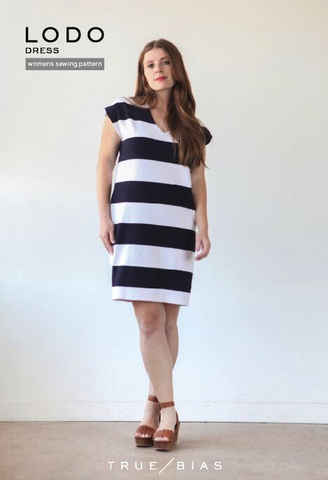 The Lodo Dress Pattern by True Bias