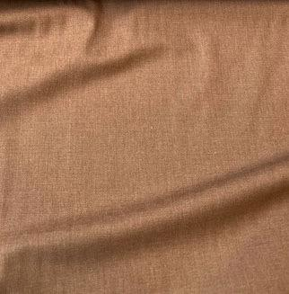 Wool Garbadine Suiting Caramel 60""
