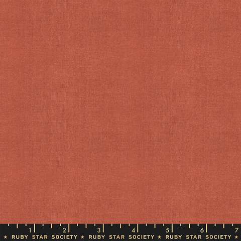 Alexia Abegg for Ruby Star Society Warp & Weft Cross Weave Persimmon