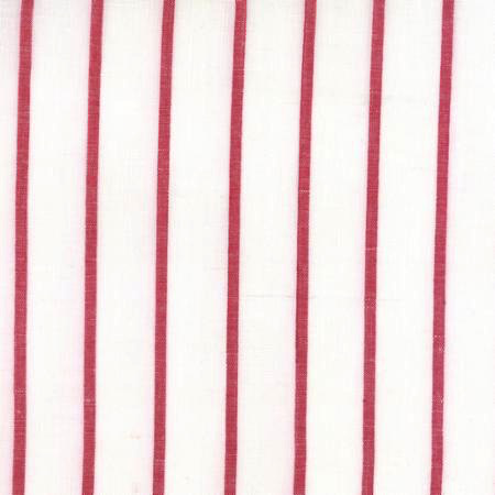Moda Toweling Linen Closet Red/White Stripe 16""