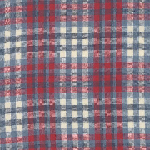 Northport Silky by Minick & Simpson Plaid Blue Red Dark