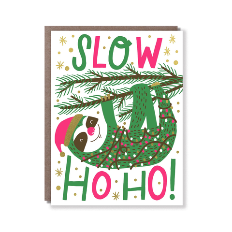 Hello Lucky Slow Ho Ho Card