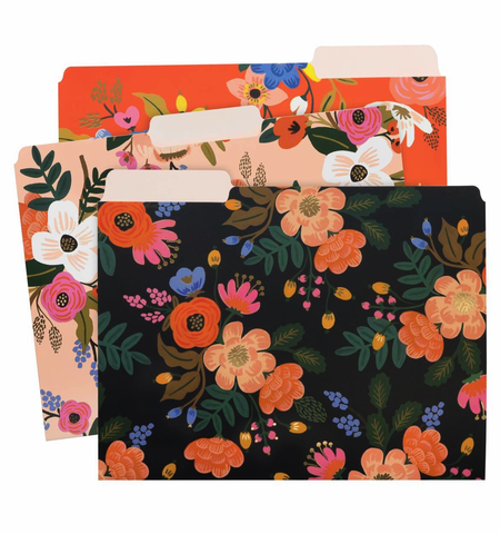 Rifle Paper Company Lively Floral Everyday Assorted File Folders