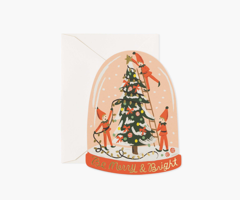Rifle Paper Co. Merry Elves Card (Boxed Set of 8)