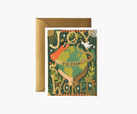 Rifle Paper Co. Joy To The World (Boxed Set of 8)