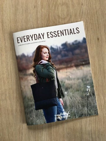 Noodlehead Everyday Essentials Booklet: a mini pattern collection