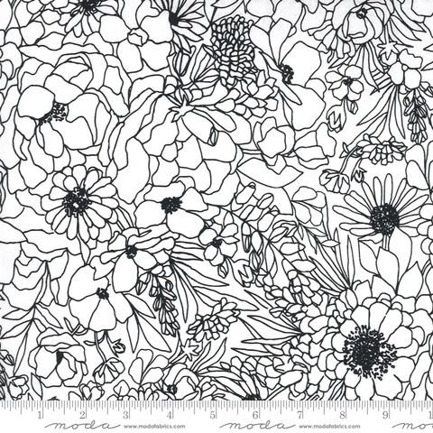 Illustrations by Alli K Design Modern Florals Paper (Coated)