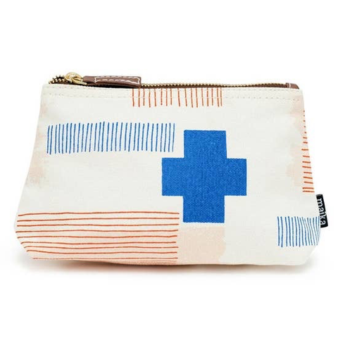 Brick Lane Canvas Zipper Pouch Large