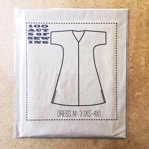 Dress No. 3 100 Acts of Sewing (XS to 4X)