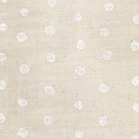 Pocho by Nani iro Cotton Double Gauze White/Natural