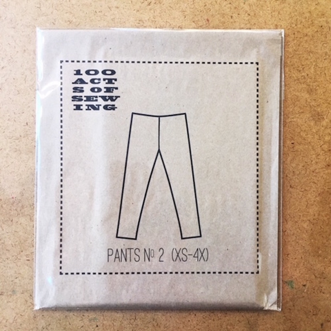 Pants No. 2 by 100 Acts of Sewing (XS to 4X)