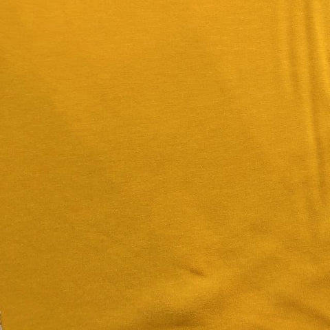 Bamboo Cotton Stretch French Terry Nugget Gold 60""