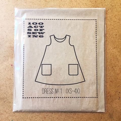 Dress No. 1 by 100 Acts of Sewing (XS to 4X)