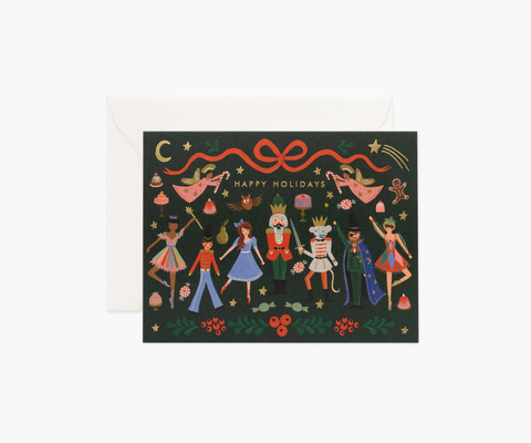 Rifle Paper Co. Nutcracker Ballet Card