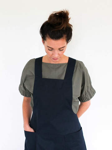 Apron Dress Sewing Pattern by The Assembly Line