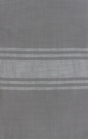 Urban Cottage by Urban Chiks Striped Toweling Grey Ivory
