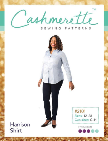Harrison Shirt Sewing Pattern by Cashmerette