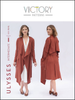 Victory Patterns Ulysses Trench Sewing Pattern